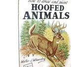 Vintage Walter Foster Book | How To Draw & Paint Hoofed Animals