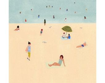 Beach Print 12x12