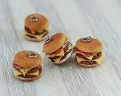 Double Cheeseburger Charm