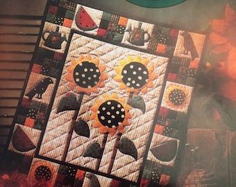 Summer Garden Quilt Pattern by Debbie Mumm 1993