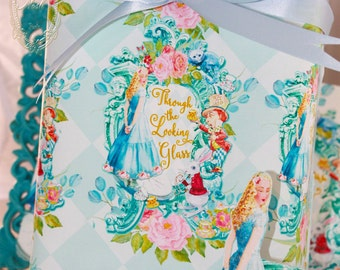 Giftwrap Alice Through the Looking Glass Set of 4 Sheets