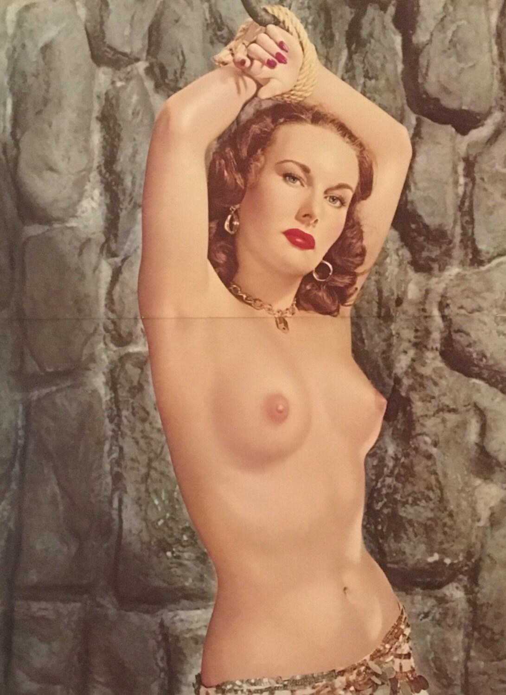 Vintage nude bondage