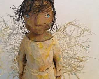 Angel! - Hand Carved -  USA