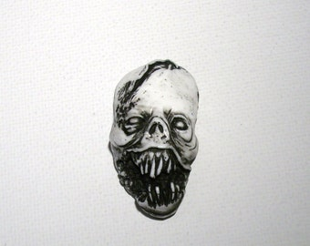 White Zombie Series 1 Zombie Head Pendant
