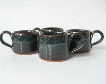 Handmade Espresso Cups Set of 4
