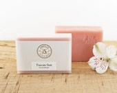Tuscan Sun Soap | Pink Soap, Handmade Soap, Cold Process Soap, Girlfriend Gift, Birthday Gift, Women Gift Idea, Gift for Teacher