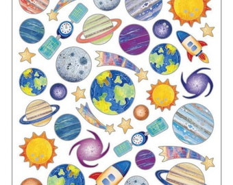 Planets Sticker • Space • Universal • Outer Space Birthday (SK4233)