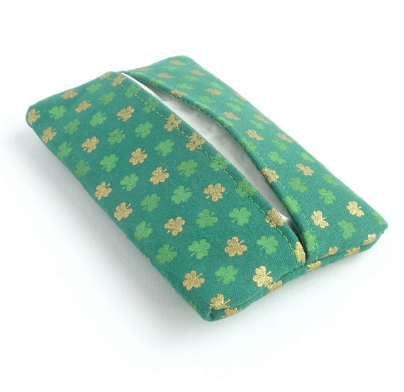 Items Similar To St Patricks Day Kleenex Holder Green