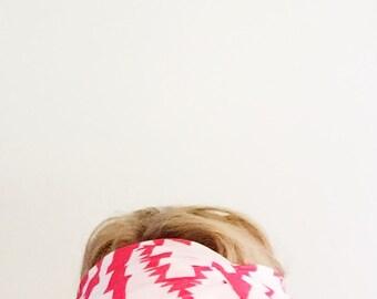 TopTwist Headband - Turban Headband - Soft Stretch Fabric -Red Headband - Hairband - Headwrap - Twisted Headband