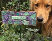 Benvenuti Italian Mosaic Welcome Sign