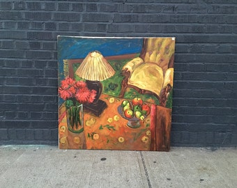 Large Impressionist Still Life Original Painting