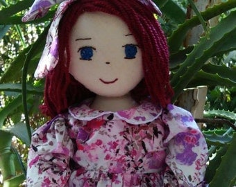 "Rag Doll (18"") with Liberty of London Dress"