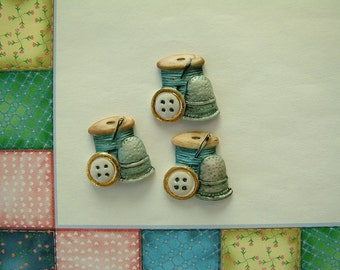 Sewing Button set of 3