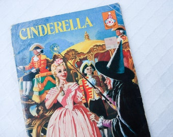 Cinderella childrens book illustrated by Eric Winter - 1964