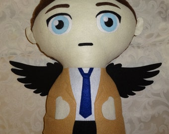 Castiel Supernatural Cuddle Plush