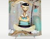 Shower Curtain - Te asimilas con el viento