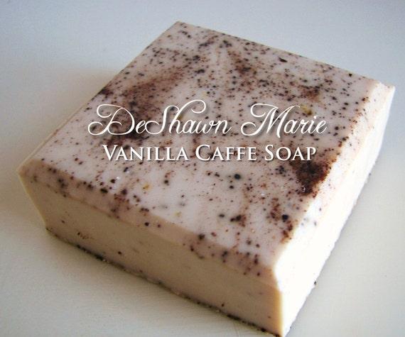 SALE SOAP- Vanilla Caffe Soap, Vegan Soap, Coffee Soap, Vanilla Soap, Christmas Gift, Mother's Day Gift, Birthday Gift, Father's Day Gift, F