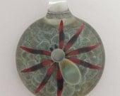 Glass Spider Pendant - Contemporary Lampwork