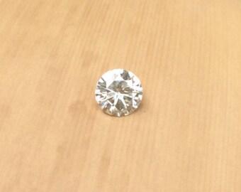 Moissanite Loose Stone - 5mm Round cut Moissanite for Your Diamond Alternative Engagement Ring - LSG470