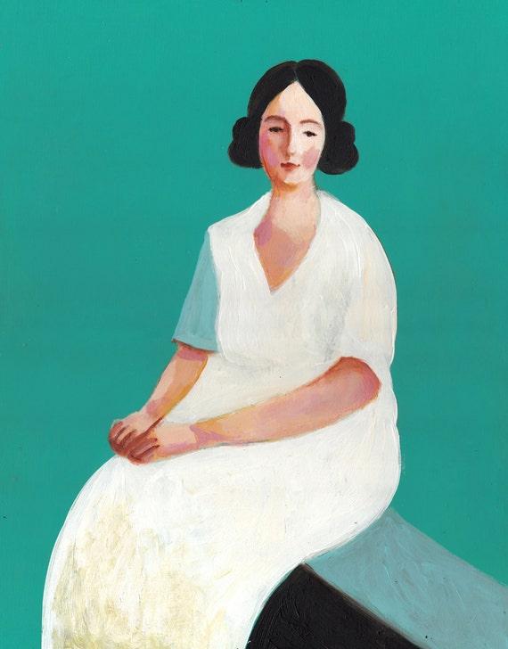 Alida  / big painting