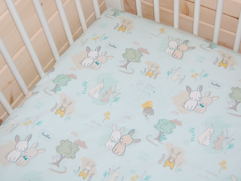 bunny baby bedding mint crib sheet mint bunny by littlenecessities