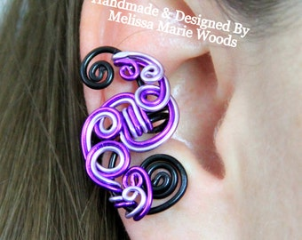 Loop-Tastic Ear Cuff- Purples