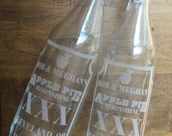Custom Swing Top Glass Bottles - Round