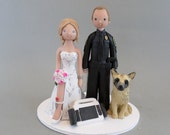 Police Officer & Paramedic Customized Wedding Cake Topper - reserved for breannamurphy4