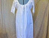 SUMMERTIME SALE! 20% OFF 18th Century Chemise Short Sleeved Xs-Xxl