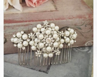Bridal Hair Comb, Wedding Hair Comb, Bridal Hair Accessories, Crystal Haircomb, Rhinestone Haircomb, Bridal Head Piece