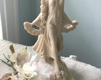 Prima Vera Travertine Sculpture