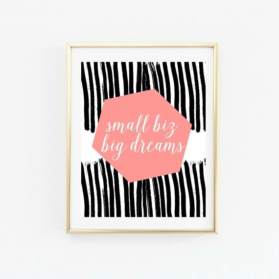 entrepreneur gift, office wall decor, inspirational wall art, wall art, gallery wall print, office wall art, girlboss, inspirational quote