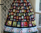 1950' s  Styled Gathered Skirt . SNOOPY.