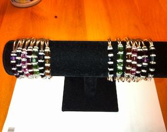 Magnetic clasp Swarovski crystal bracelets