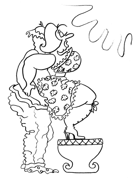 the squat balance fun sexy coloring pages for adults from the chubby art cartoon colouring book for sex maniacs 50 kama sutra positions - Sexy Coloring Book