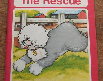 Vintage 1977 MR. MUGS Series Mr. Mugs To The Rescue Level 5 Ginn and Company children reading series