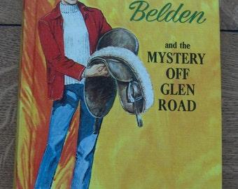 TRIXIE BELDEN 5 - The Mystery Off Glen Road hc  vintage 1956/65