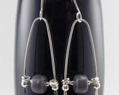 Leland bluestone eco-friendly dangle drop earrings with sterling silver 9766