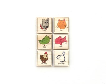 Pets - Chore Magnet Set of 6 - Chore Magnets