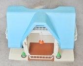 Vintage Little Tikes Dollhouse, Vintage Plastic Dollhouse, Retro Dollhouse, Brady Bunch House