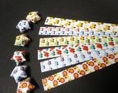 Lucky Stars Paper Strips - Kiddy Animal Prints