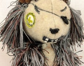 RESERVED for MR. H. // Mr. Hedgie //Plush animals // art doll // OOAK