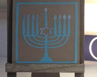 Shalom 2016 Hanukkah Cards Set of 4