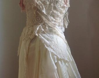 A midsummer Nights dream, long fae dress