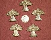 Pewter Pocket Angels, Set of Five
