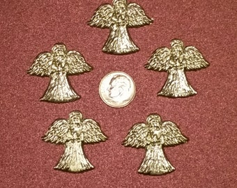 Pewter Pocket Angels, Set of Five