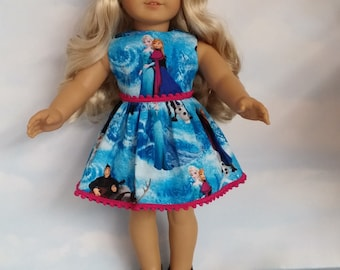 18 inch doll clothes - #314 - Princess Dress made to fit the American Girl Doll - FREE SHIPPING