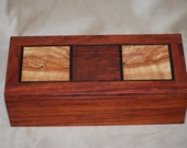 Limited Edition Exotic Wood Jewelry Box