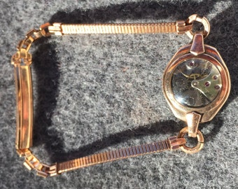 Vintage Ladies Watch Re-Purposed into a Bracelet