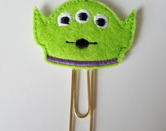 Toy Story alien planner paper clip